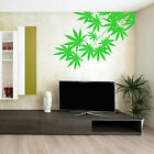CANNABIS TREE LEAF PLANT WEED SKUNK HASH Vinyl Wall Art Sticker Room Decal