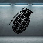 Hand Grenade Vinyl Wall Art Room Sticker Decal Military Themed Army