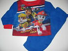 Paw Patrol pajamas Toddler Boys 12 months - 5T long Sleeve 2 piece Nick Jr Paw