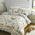 Hounds & Dogs #Bedding Quilt Duvet Cover & Pillowcase Set
