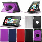360° Rotation PU Leather Smart Case Cover for Amazon Fire HD 6 Tab 2014 UK Ship