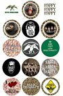 Duck Dynasty - One-Inch Bottle Cap Images