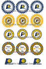 PreCut  Indiana Pacers One Inch Circles (Bottle Cap Images)