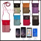 "Shoulder Bag Case for 5"" 5.5"" Devices Phone iPhone 6 Plus ANIMOB VELVET VELOUR"