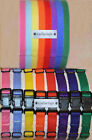 "PUPPY ID COLLAR & BAND SET - Nylon ""Snap"" Collars & Velcro® ID Litter Bands"