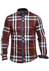 Mens MishMash Shirt L/S | Confidence | Red/Teal