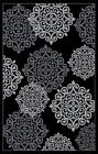 776 Black Gray Turquoise Modern Area Rug New Carpet 2x3, 5x7, 8x10
