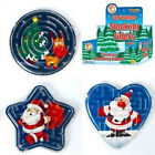 3 Plastic Christmas Maze Puzzles Stocking Party Bag Filler Gift Girl or Boy