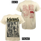 Authentic BEHEMOTH Lvcifer Lucifer Natural T-Shirt S M L XL XXL Black Metal NEW