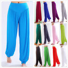 ATHLETIC Bamboo Fabric Sports Clothes Women's Yoga Tai Chi Loose Bloomers Pants