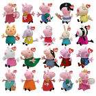 "Ty Peppa Pig & Friends - 6"" Beanie and 10"" Buddies - Choose Your Soft plush toy"