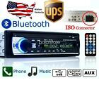 Car Radio Bluetooth 1 DIN In Dash 12V SD USB IPOD Aux Input FM Stereo Head Unit