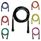 Farabi Skipping Rope 9ft long Boxing Fitness exercise Workout Black Red Blue