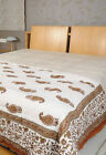 Decor Quilt Cotton Hand Block Print Indian Double Single Bed Size Doona Quilts