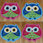 Think Rugs Hong Kong Owl Hand Made Childrens Rug