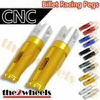 Billet CNC Racing Front / Rear Pegs Foot Rests for Kawasaki ER6N 2012-2013