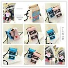 Hotsale Popular Girls Canvas Shoulder Bag Milk Cartons Crossbody Bag Peculiar LJ
