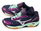 Mizuno Wave Twister 3 Navy/Purple-Silver/Turquoise Indoors Sports V1GC147003