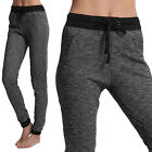 TheMogan Active Casual Black and Grey Jogging Jogger Pants