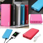30000mAh LED Flash Dual USB External Power Bank Battery Backup Charger for Phone