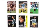 Pro Set cards signed Brown, Hughes, Pearce, Dickins, Walsh, O'Hanlon