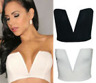 2 Style CHEAP Lady SEXY V-Neck Tube BACK Top Bra Backless Clubwear Invisible Bra