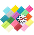 Multi Assorted A2 A6 A7 Astrobrights &more Envelope / Cards Invitation Response
