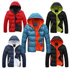 PROMOTION Men Winter Warm Slim Down Jacket Outwear Hooded Coat Ski Parka Hoodies