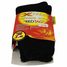 Ladies Red Tag Black Extreme Thermal Socks 2.45 Tog UK Size 4-8 Style 41B283