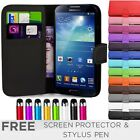 Leather Flip Wallet Case Cover For SAMSUNG Galaxy S4 i9500