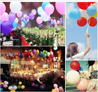 100pcs Latex Balloon 10'' Celebration Birthday Wedding Party Helium Decoration