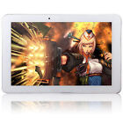 "10.1"" Google Android 4.4 Quad Core 16GB Touch Phone Tablet GPS 3G Wifi 2SIM H5"