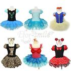 Girls Minnie /Snow White/Mermaid Princess Ballet Tutu Leotard Dancewear Dress