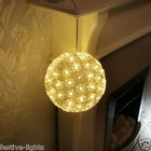 BLOSSOM FLOWER INDOOR HANGING LED CHASING SPHERE BALL BEDROOM DECORATION LIGHT