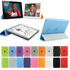 Slim Magnetic PU Leather Stand Smart Cover Back Case For Apple iPad air 2 mini
