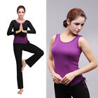 Modal Women Fitness Yoga Clothes/Yoga Pants/Shirts/Trousers/Vest/Top 3pcs suit