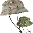 NEW British Military Army Jungle Special Forces Small Brim Boonie Bush Hat Cap