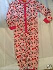 New Angry Birds girls pink onesie all in one nightwear sleepwear loungewear