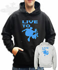 LIVE TO SKATEBOARD SKATE t-shirt kids & adults size`s HOODIE all size