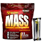 Mutant Mass Lean Muscle Weight Gainer 2.2kg 5lb + FREE CNP Pro Flapjack