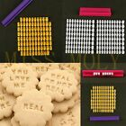 New Cookie Imprint Alphabet Letter Number Cake Embosser Fondant Deocrating Tools