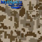 Hydrographics Film Water Transfer Printing Hydro Desert Digital Camo mc-231-FILM