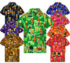 Funky Hawaiihemd Beer Bottle Multi Hawaiian Shirt