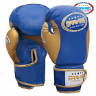 Farabi Kids Junior Boxing Gloves Muay Thai Training Punching Bag Mitts Blue
