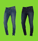 Enzo Designer Jeans Mens Skinny Stretch Stretchy Light Dark Tight Fitted  EZ326