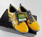 Callaway Golf Shoe X Cage Vibe Men's Spikeless Golf Shoe Saffron Yellow Grey NEW