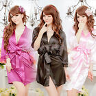Charm Babydoll Nightwear Ladies Lace Lingerie Sleepwear Dress G-String Set UKEW