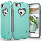 For iPhone 8 7 Plus Vena【vLove】Case Cover Girl Heart-Shape Hybrid Dual Layer
