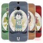 HEAD CASE CHRISTMAS ANGELS SILICONE GEL CASE FOR HTC ONE M8