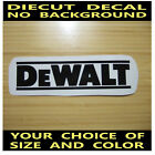 Billmans Home Decor DeWalt Tools Vinyl Die Cut Decal Car Truck Window Tool Box Laptop Sticker